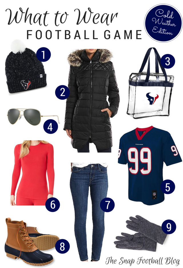 What should you wear when it s freezing outside and you re headed to a football  game  We ve listed all of our game day favorites in one place! c7dd5a121
