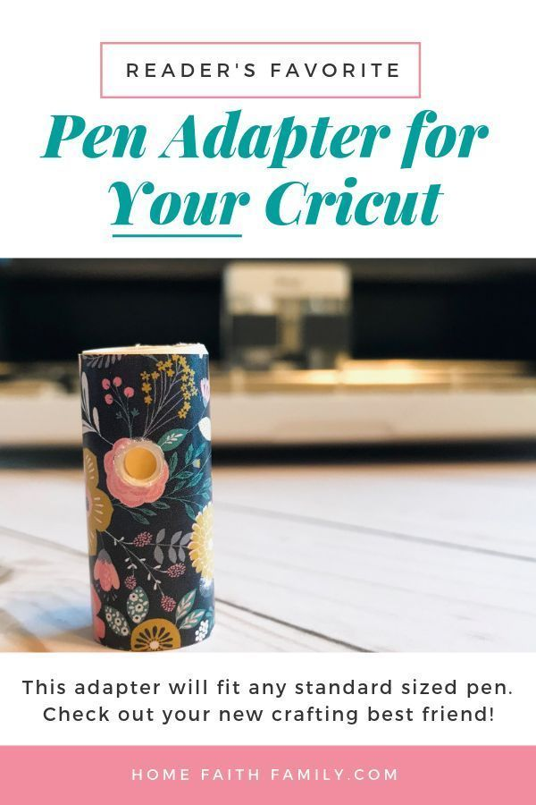 The Ultimate Pen Adapter for Your Cricut