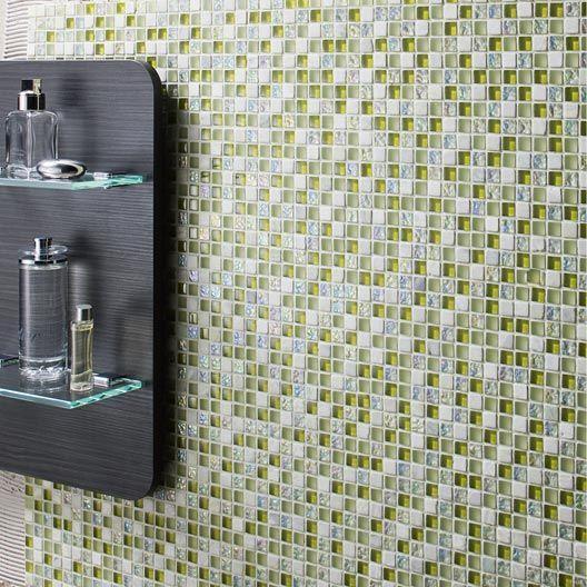 Mosaique Melange Vert 1 5x1 5 Cm Mosaique Vert