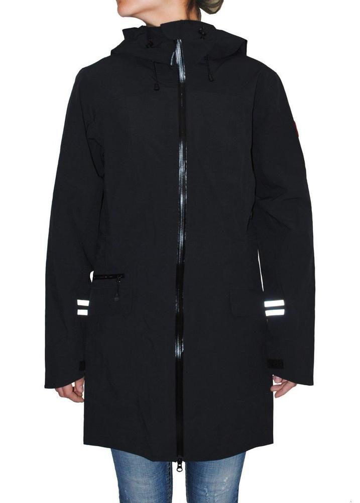 Canada Goose Women's Waterproof Coastal Shell Jacket , Black #CanadaGoose # Raincoat #Outdoor