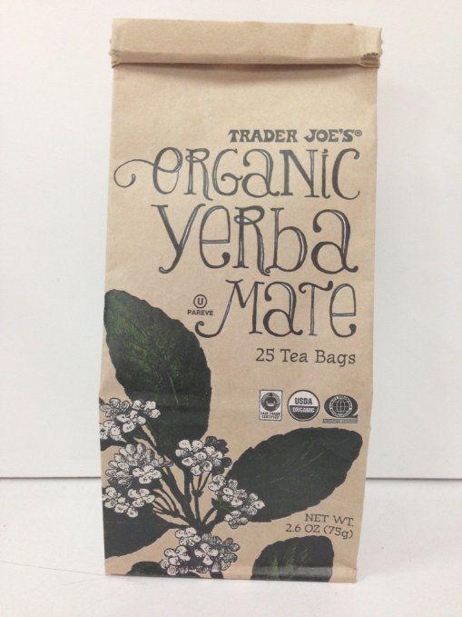 Trader Joe S Organic Yerba Mate Tea