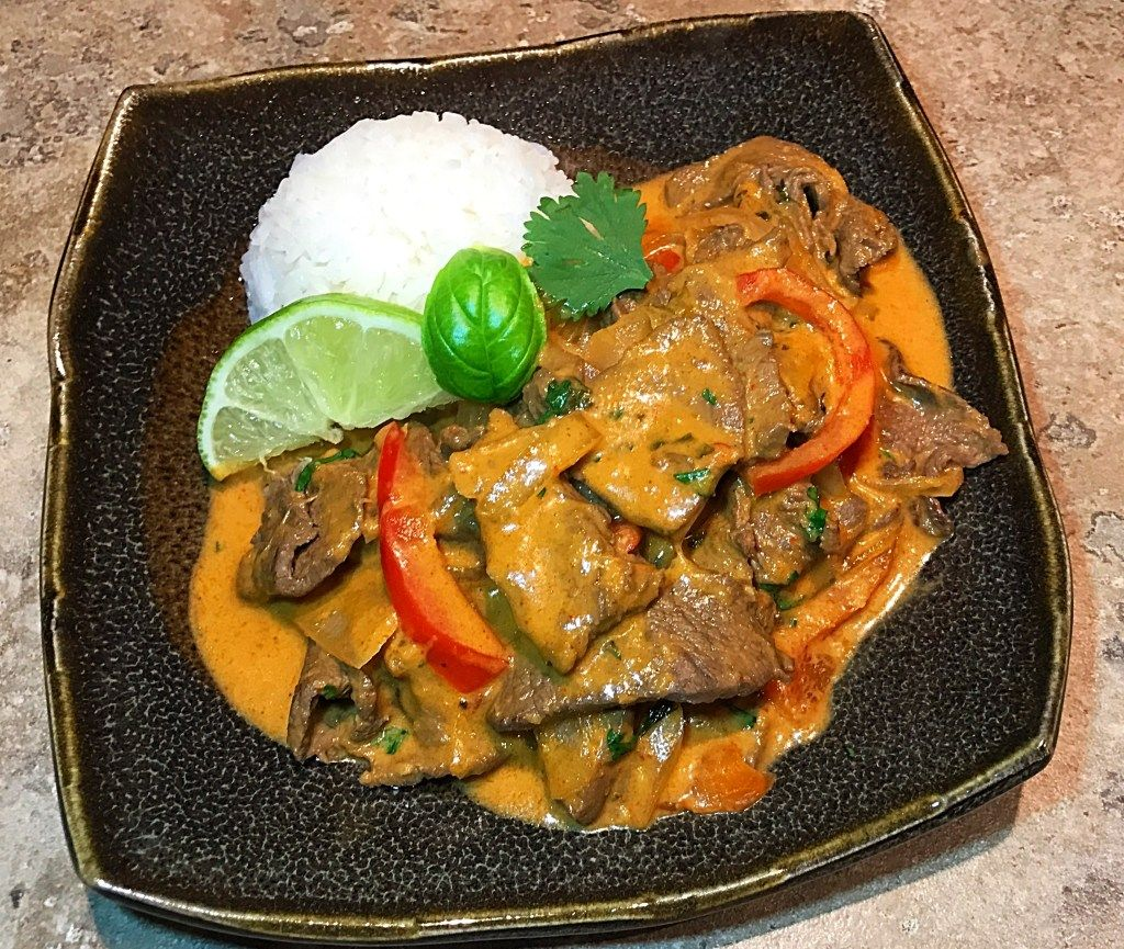 Thai Beef Red Curry Recipe - The Foodie Whisperer