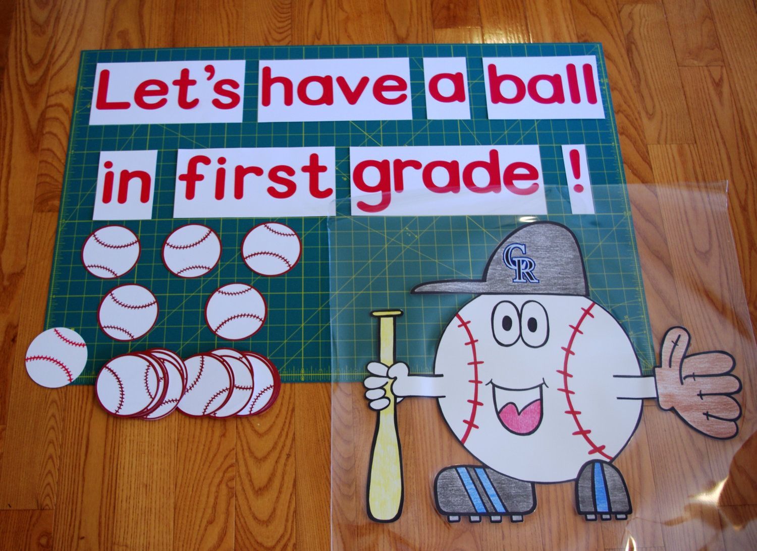 Sports Theme Clroom Bulletin Boards Board Decor Lets Have A Ball By Roomsandboards