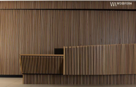 Wood Facade Texture