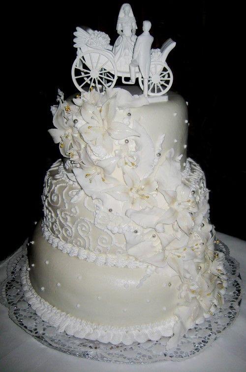 Какой красивый свадебный торт выбрать. Красивые свадебные ...