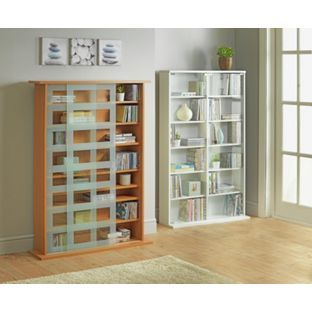 Buy Media Storage Unit with Glass Door - White at Argos.co.uk  sc 1 st  Pinterest & Buy Media Storage Unit with Glass Door - White at Argos.co.uk visit ...