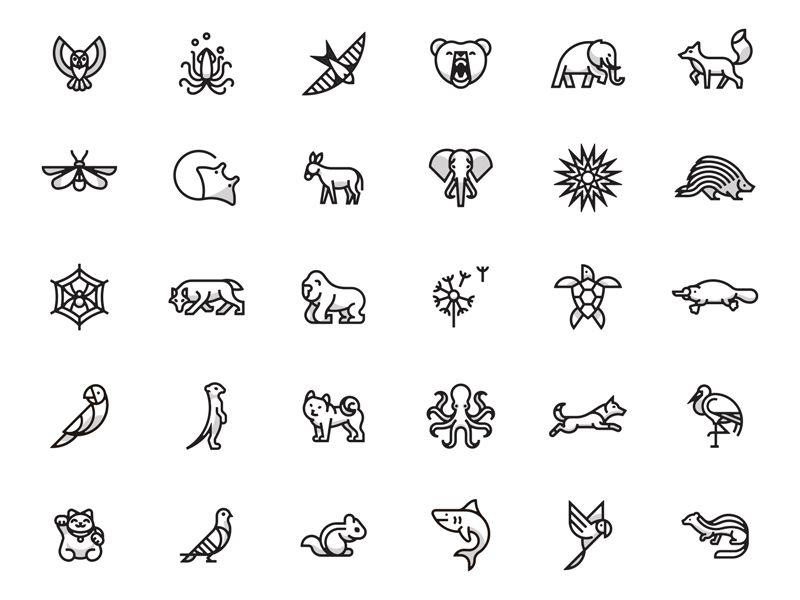 Animals Icon Tattoo Tattoo Outline Small Animal Tattoos