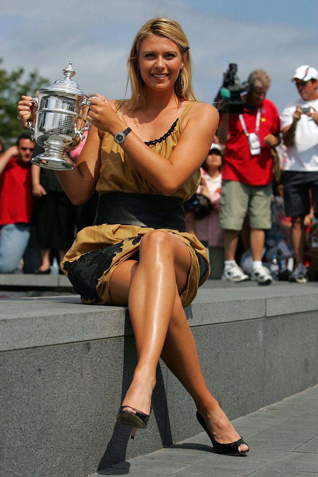 legs Maria sharapova