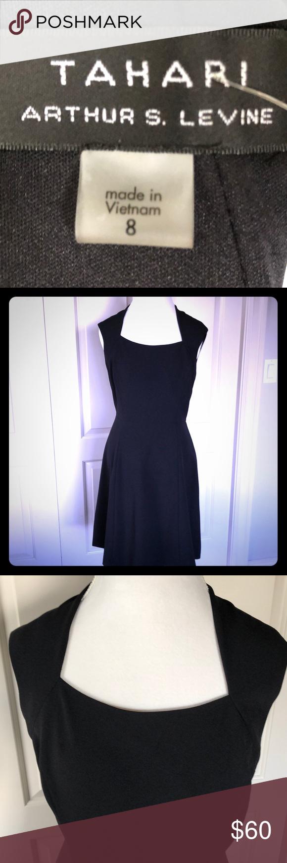 New Tahari Black Dress Tahari Black Dress Fully Lined Back Zipper Perfect For The Office Or Just A Cocktail Dress Shou Black Dress Tahari Dress Dresses [ 1740 x 580 Pixel ]