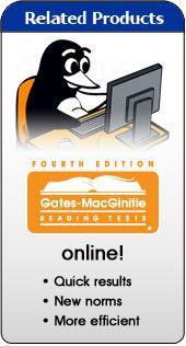 Riverside Publishing - Gates-MacGinitie Reading Tests - Reading ...
