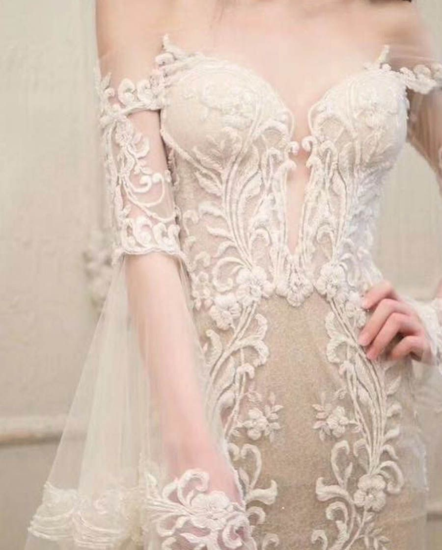 The Best Bridal Boutiques In Kuala Lumpur Part 1 Designer Wedding Gowns Wedding Dresses Lace Wedding Dress Champagne
