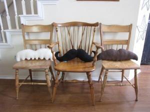 Moustache Pillows