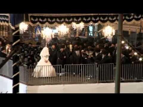 Belz Hasidic Dynasty Wedding Celebrated In Jerum