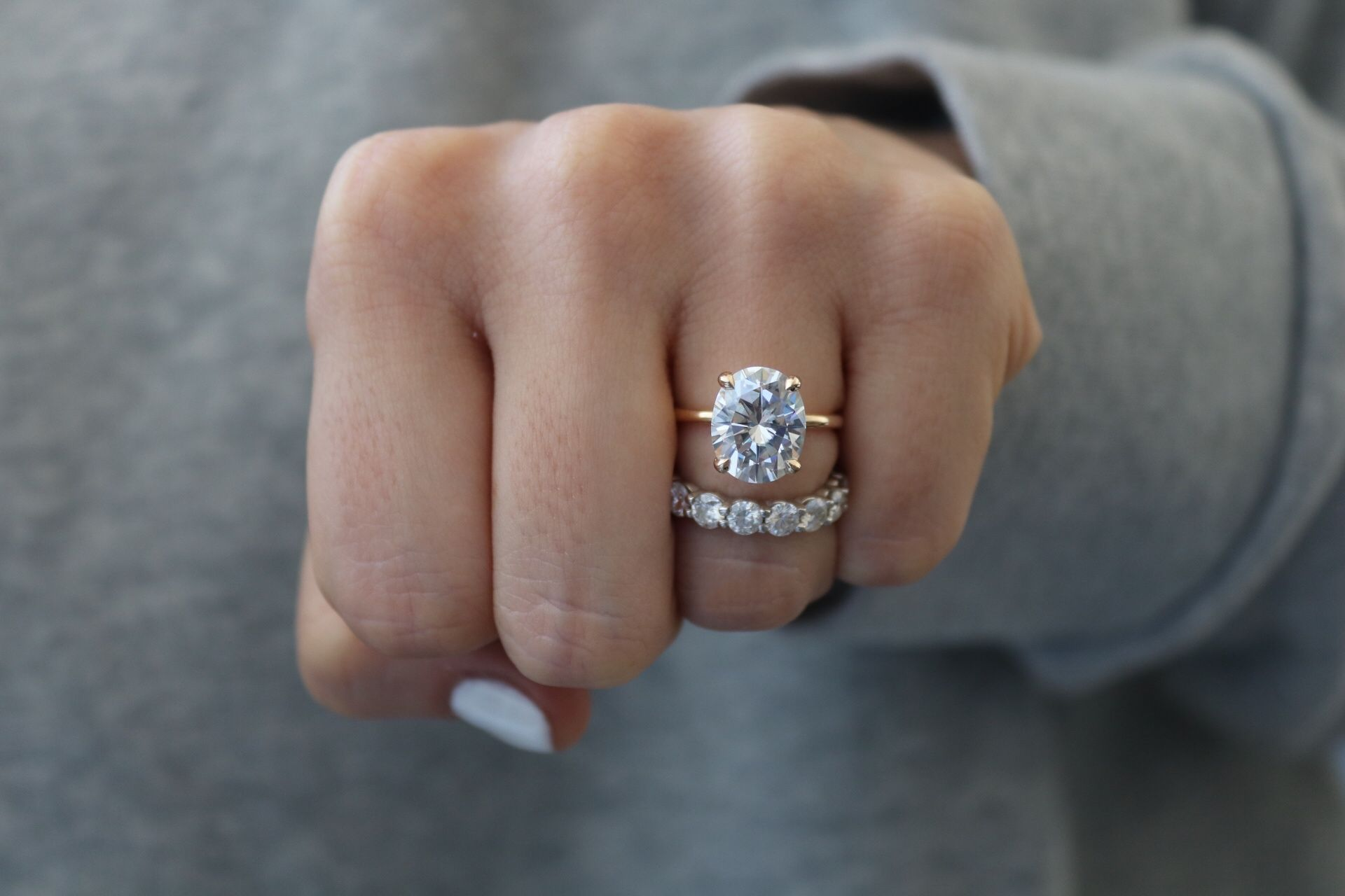 with diamond pave conflict shank ps free oval moissanite pav ring halo band gold sofia products in and moiss white engagement grey diamonds mod rings
