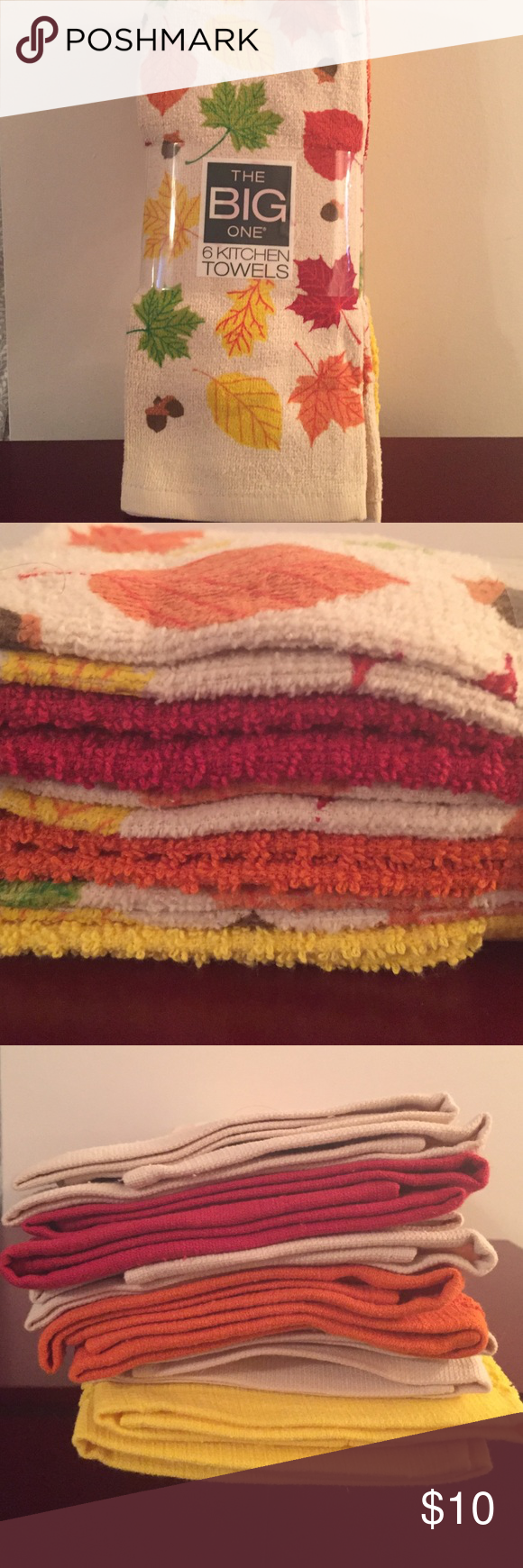 Nwt Kohls Fall And Christmas Kitchen Towels Nwt My Posh Picks