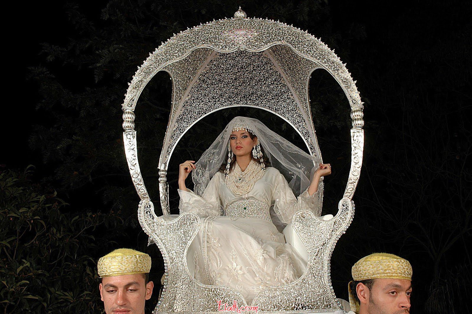 Muslim wedding dress kaftan marocain morocco in pinterest