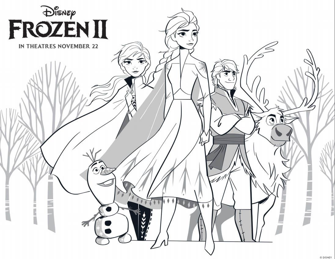 Frozen 2 Coloring Pages Anna And Kristoff Elsa Coloring Pages Disney Princess Coloring Pages Disney Coloring Pages