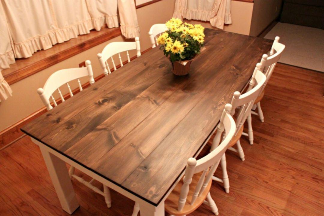 easy diy dining room table