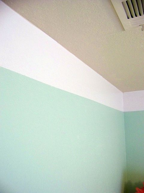 Baby S Room Painting The Ceiling