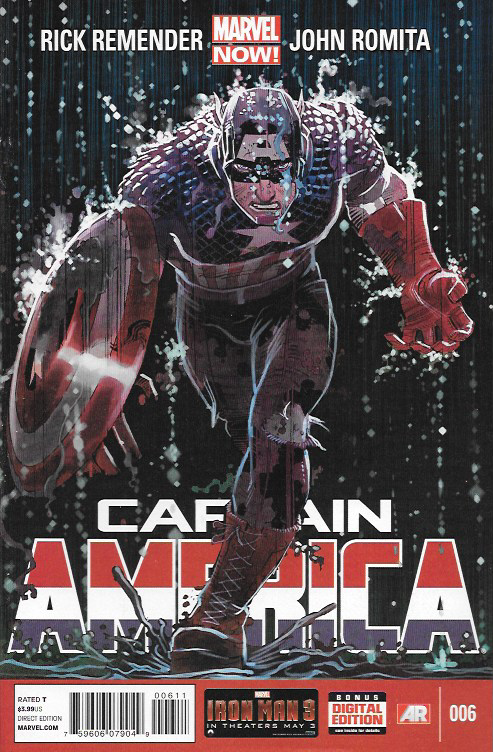 Captain America # 6 Marvel Now! Vol 7 - visit to grab an unforgettable cool 3D Super Hero T-Shirt!
