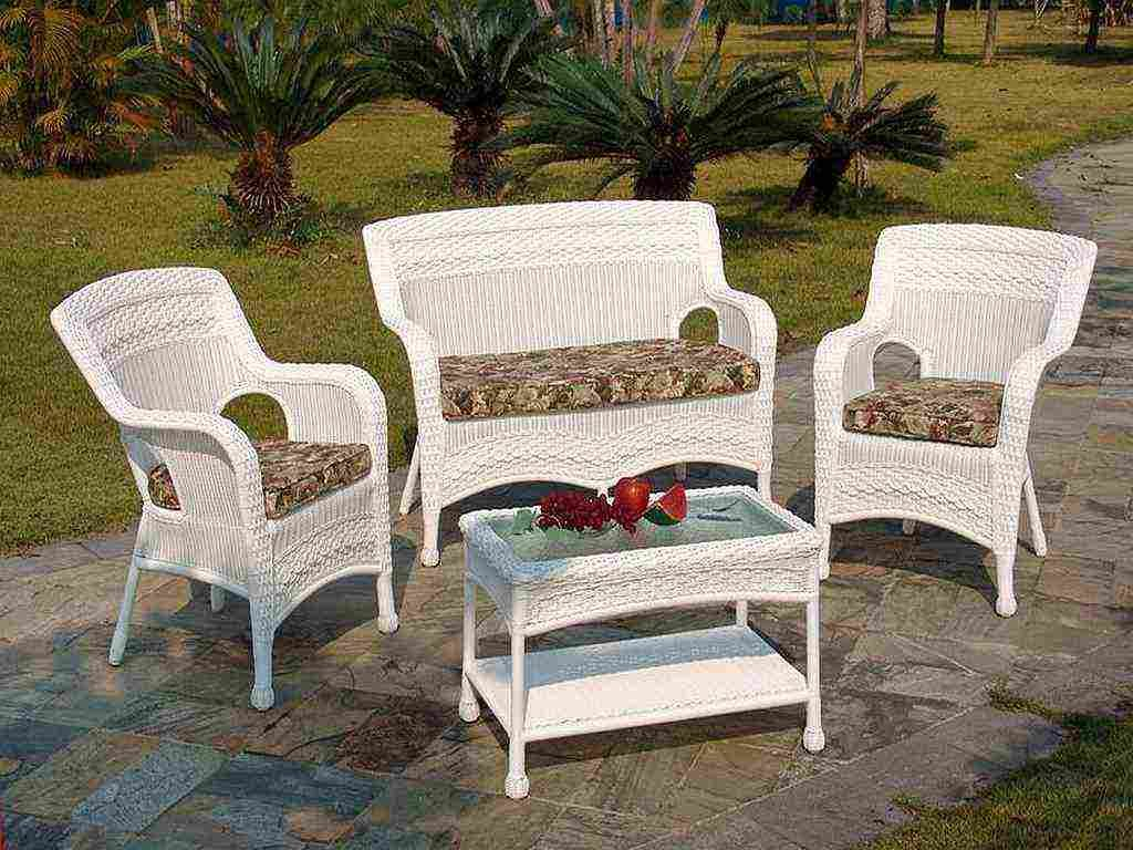 Best Vinyl Patio Furniture With Plastic Wicker Outdoor Decor Ideas 20