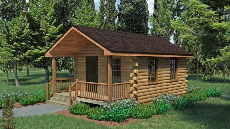 Lonesome Pine Ii 1 Bed 1 Bath 1 5 Stories 1148 Sq Ft Appalachian Log Timber Homes Hybri Log Cabin Floor Plans Cabin Floor Plans House Plan With Loft