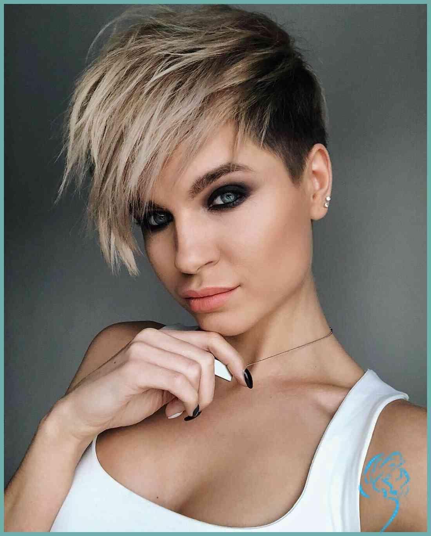 10 neue kurze Frisuren für dickes Haar, Frauen Haarschnitt