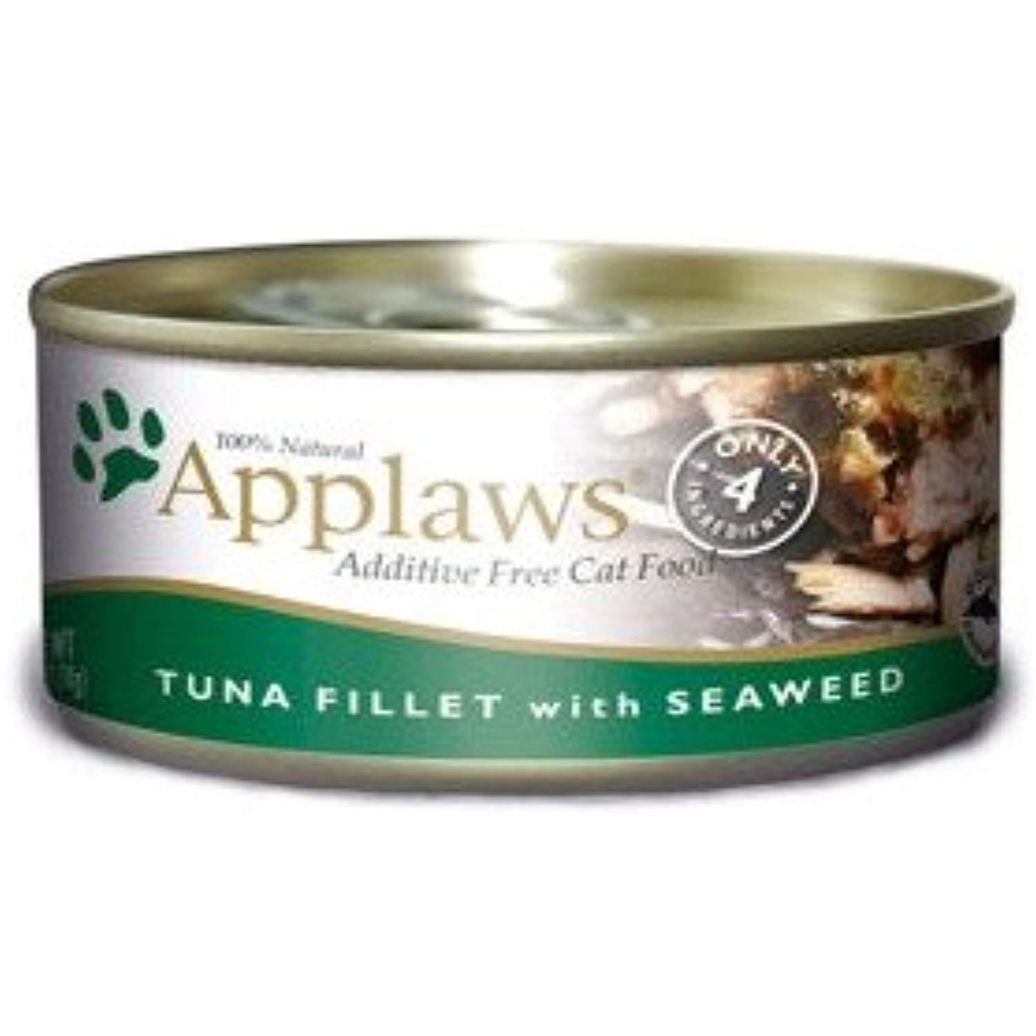 Applaws Cat Tin 2 4oz Tuna With Seaweed 24 Pack More Info Could Be Found At The Image Url This Is An Affiliate L Canned Cat Food Tuna Fillet Wet Cat Food