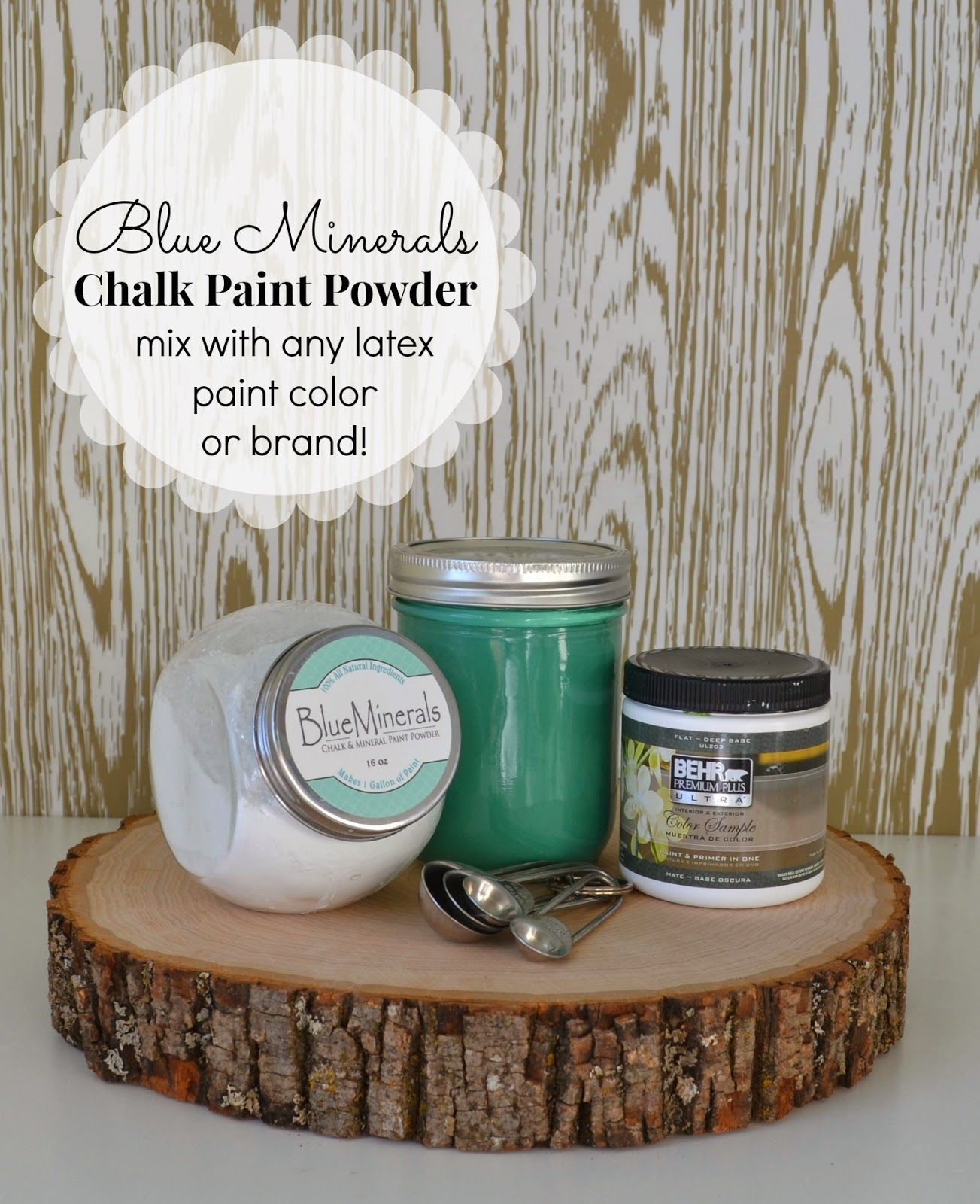blue minerals chalk paint powder painting pinterest chalk