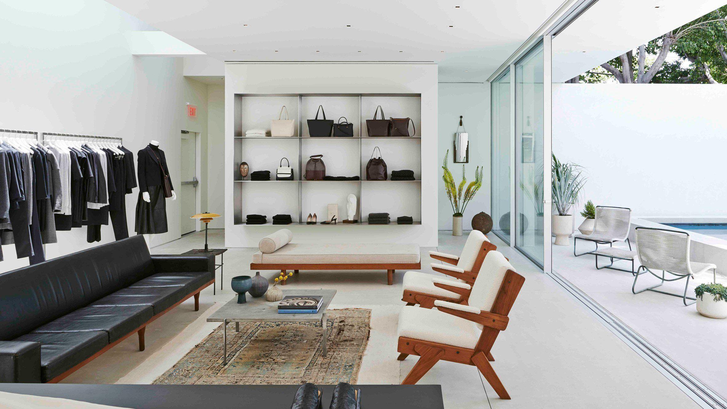 Californian Modernism Informs Olsen Twins Fashion Store In Los