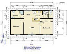 The Serge 2 Bedroom Granny Flat Design Sydney