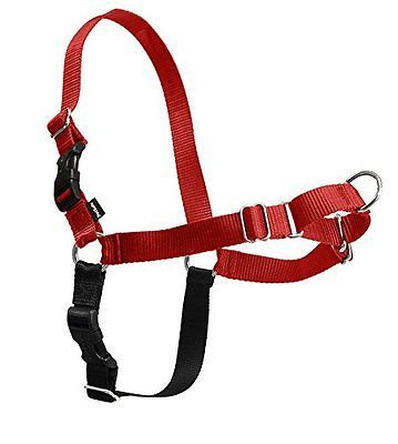 Harnesses 66783: Petsafe Easy Walk Dog Harness Adjustable High-Quality Nylon Petite Small Red -> BUY IT NOW ONLY: $54.6 on eBay!