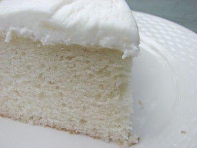 White Almond Wedding Cake Recipe. My now favorite White Cake recipe ...