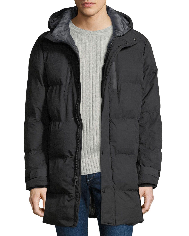 Michael Michael Kors Men S Quilted Hooded Puffer Jacket Michaelmichaelkors Cloth [ 1500 x 1200 Pixel ]