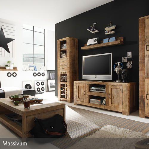 Stylische Wohnzimmerschränke aus Holz