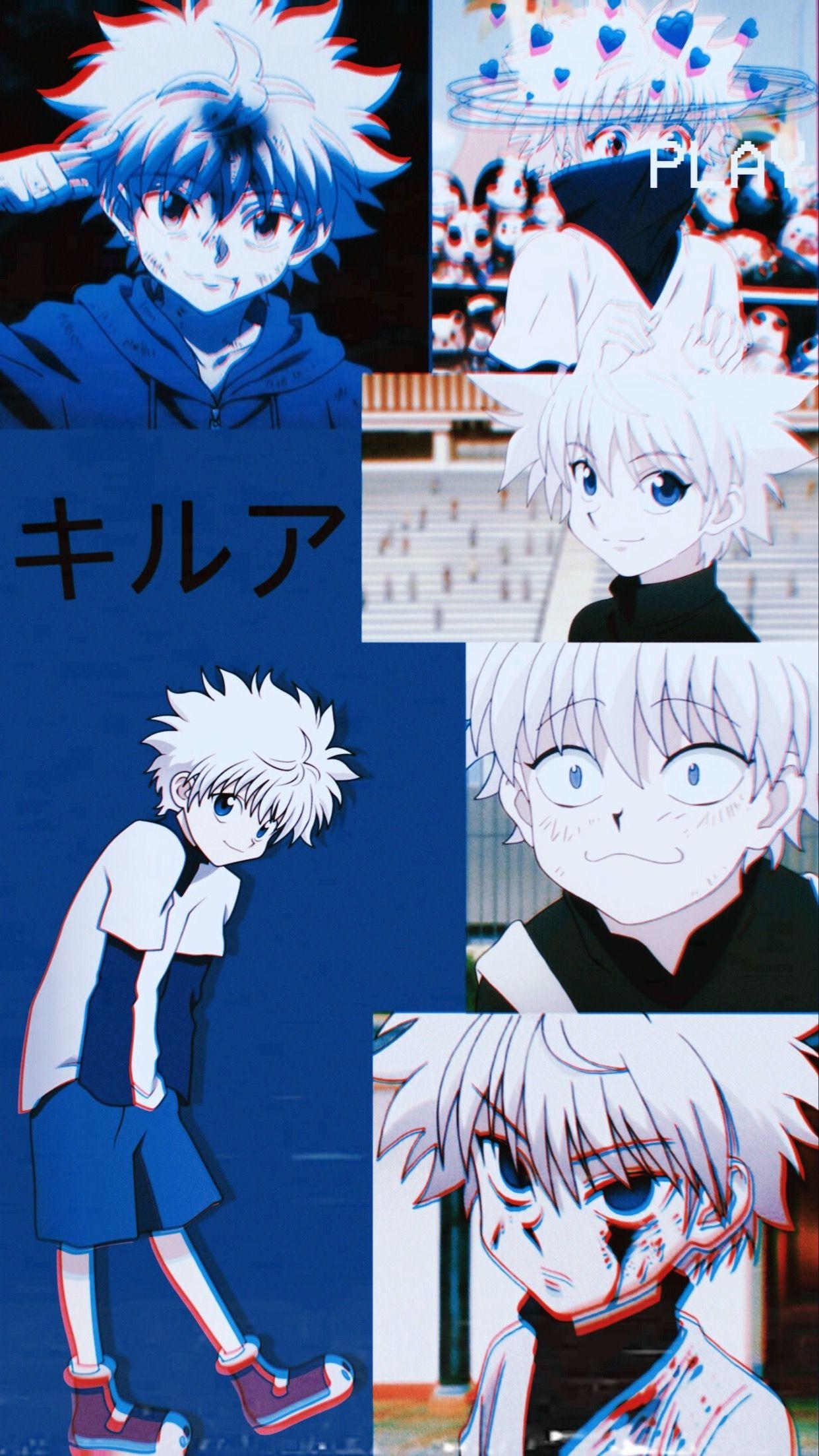 Gon is crying gon hunter killua kirua. Killua wallpaper in 2020   Anime artwork wallpaper, Anime ...