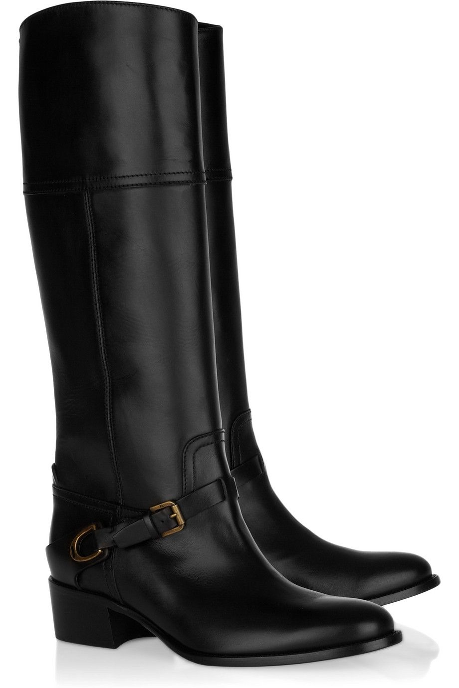 The classic equestrian-inspired boot // Ralph Lauren Safara Boots
