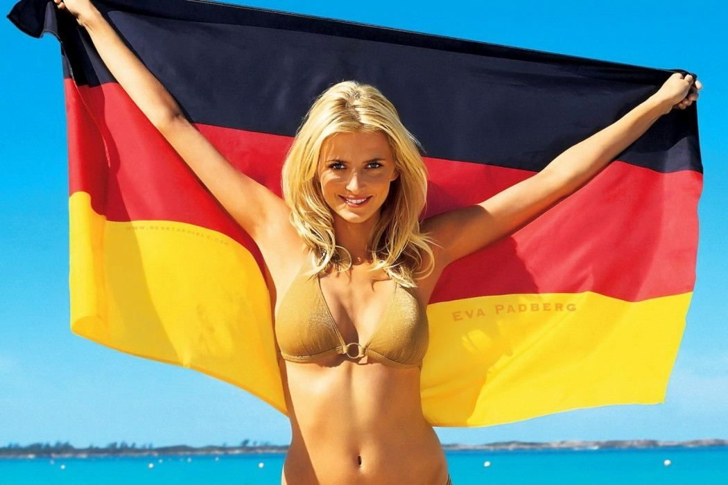 German Blonde Double Anal