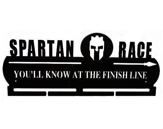 Spartan Race Medal Hanger By Memorablemetaldesign On Etsy