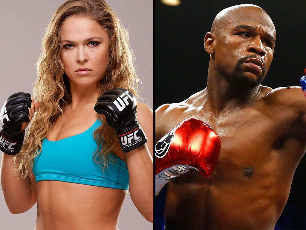 Mayweather Supports Ronda Rousey After Her Loss