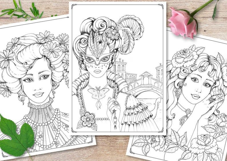 Age Of Elegance Coloring Book Artist S Edition Signed By The Author Coloring Books Coloring Pages Artist Books