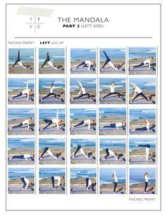 mandala yoga sequence  google search  vinyasa yoga