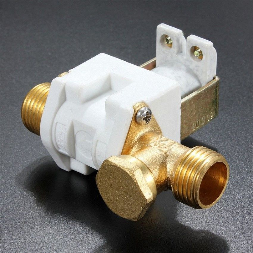 เล็งเห็นด้วย DC 12V 1/2 Electric Solenoid Valve For Water