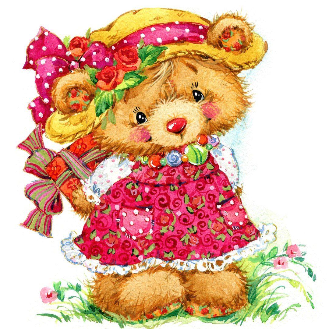 Cute Teddy Bear Clipart