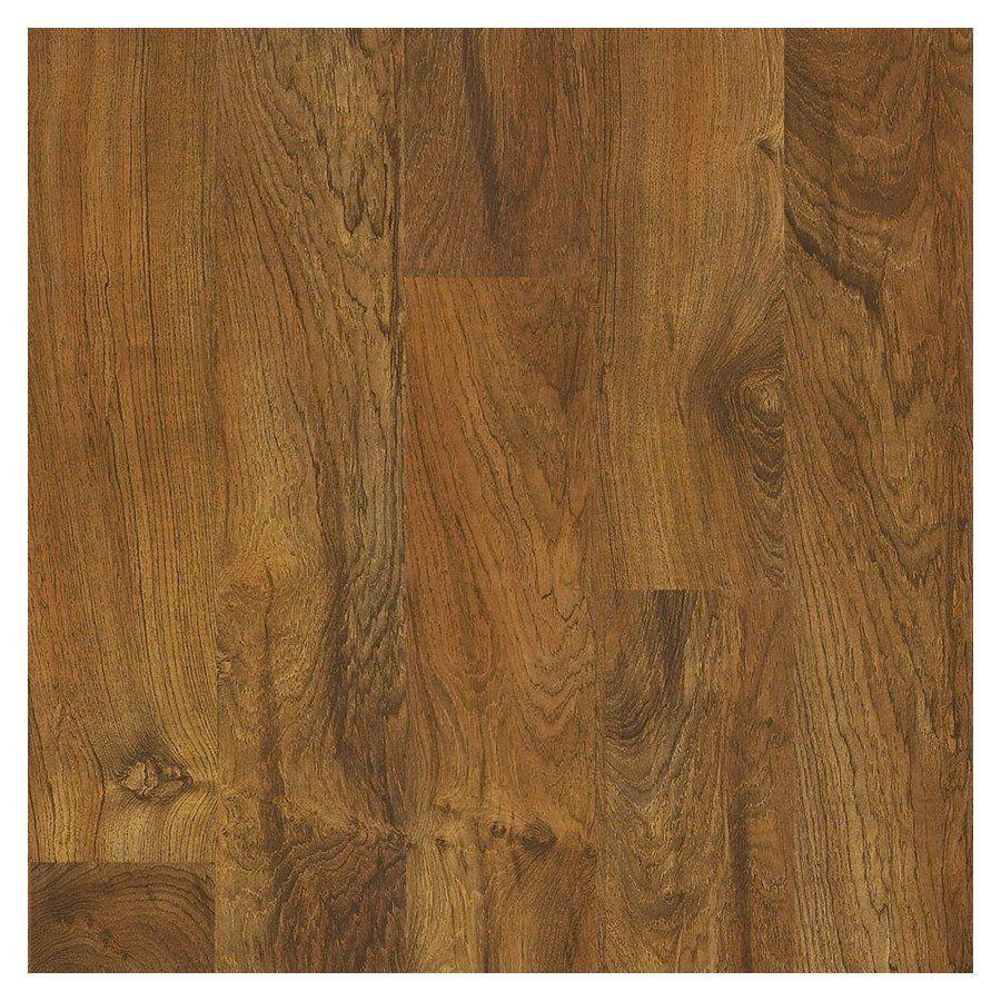 Swiftlock 5 43 In X 47 72 Brazilian Teak Laminate Flooring At Lowe S Canada 1 Carton 25sq Feet 37 Per