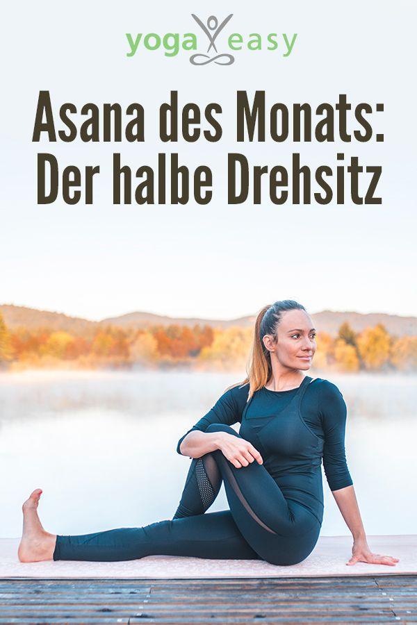 Der halbe Drehsitz - Ardha Matsyendrasana