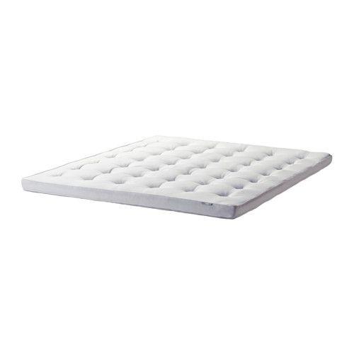 Topper Traagschuim Ikea.Tustna Mattress Topper White Standard Double Boat Ideas Ikea