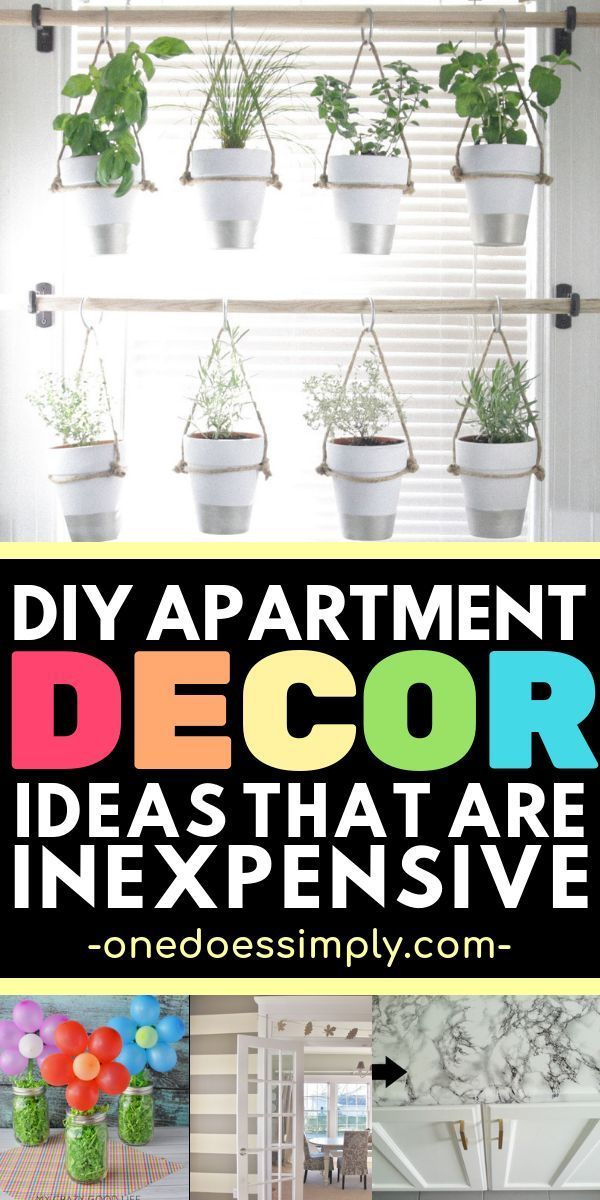 Cheap And Easy DIY Apartment Decorating Ideas On A Budget images