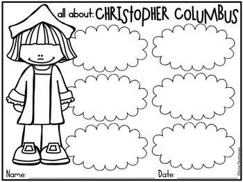 Christopher Columbus Craft & Printables {English and