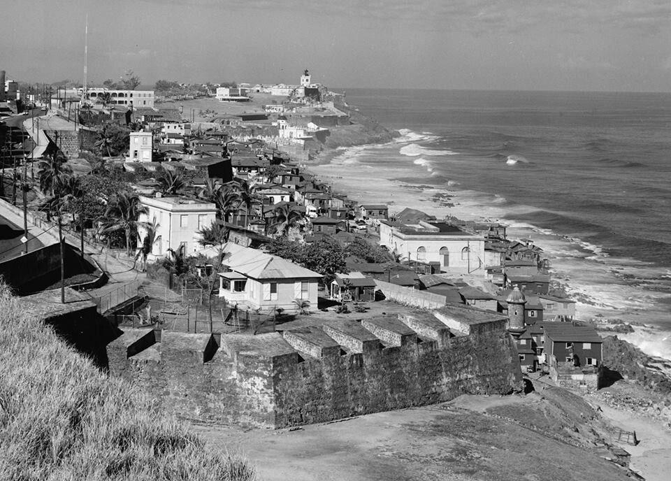 Castillo San Felipe del Morro1947